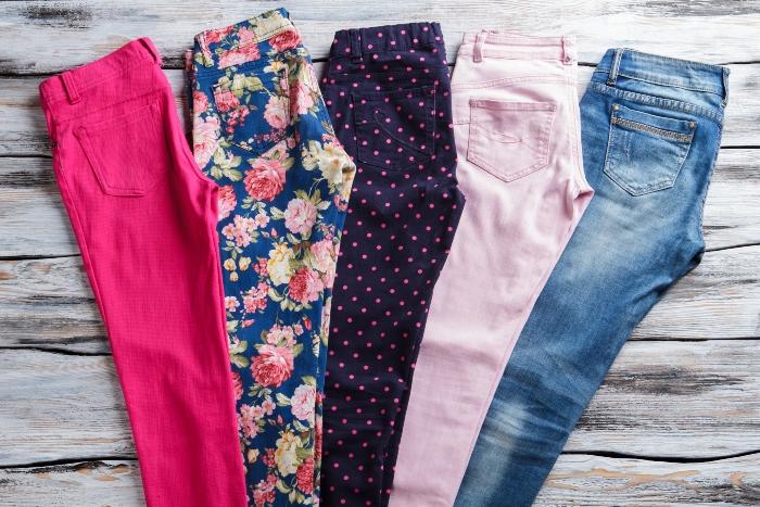 jeans-blumen