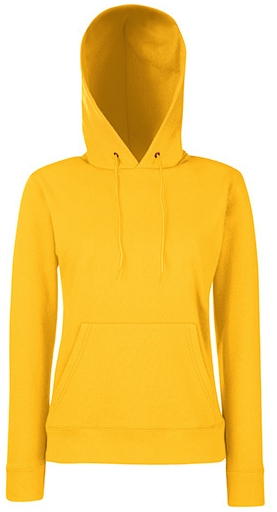 Fruit of the Loom Lady-Fit Hooded Sweat