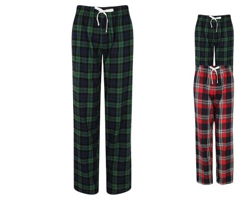 SF83 SF Women Womens Tartan Lounge Pants In und Out 2021