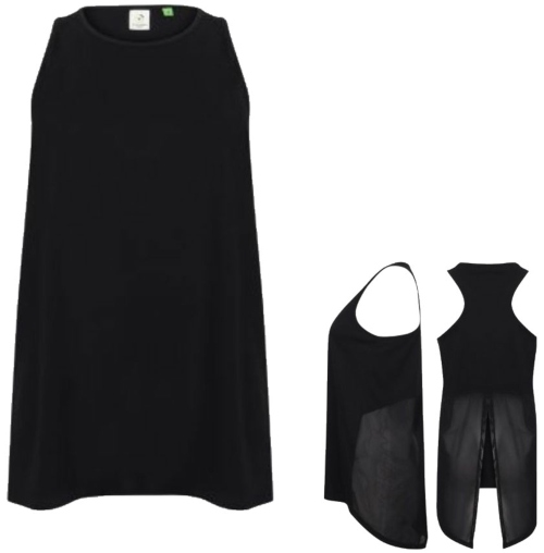 TL507 Tombo Ladies` Open Back Vest