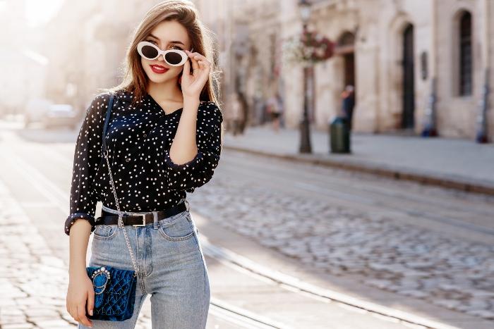 polka-dots-jeans
