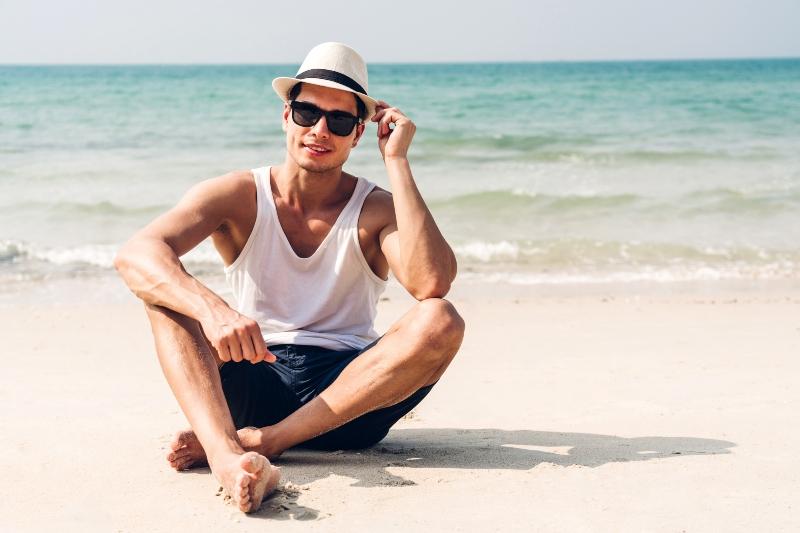Stylische Kopfbedeckungen fuer Herren Kopfbedeckungen im Sommer