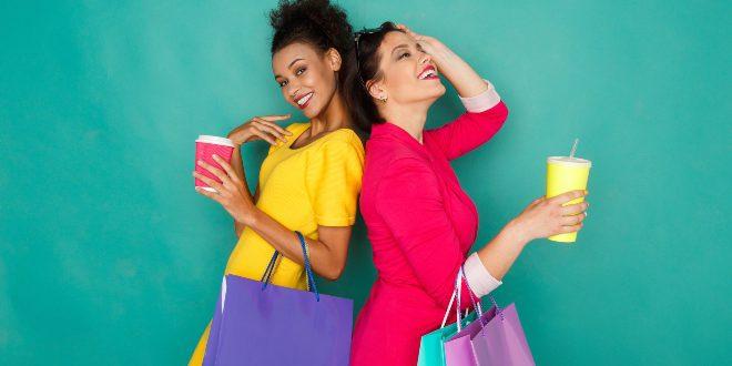 Modische Frauen - Knallige Farben