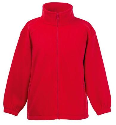 F800K Fruit of the Loom Kids Fleece Jacket
