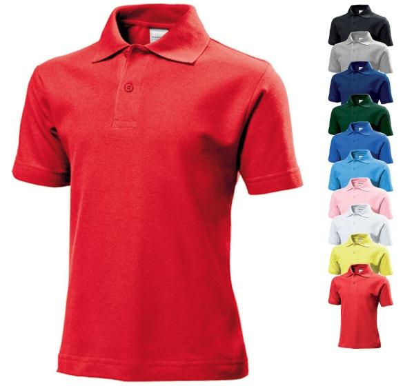 S510K Stedman® Short Sleeve Polo for children - ideale Schülerbekleidung