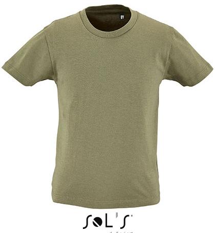 L02078 SOL´S Kids Round Neck Short-Sleeve T-Shirt Milo