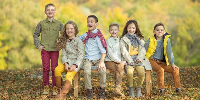 Kinder in modischer Kleidung - Trends bei Kinderoutfits