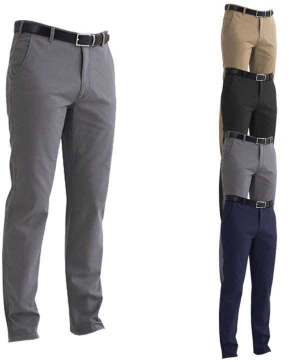 BR502 Brook Taverner Business Casual Denver Men`s Classic Fit Chino