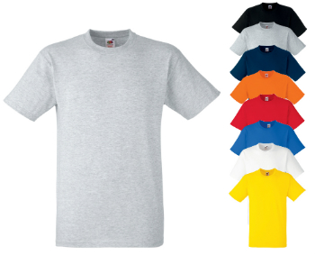 Fruit of the Loom T-Shirt Heavy Cotton T