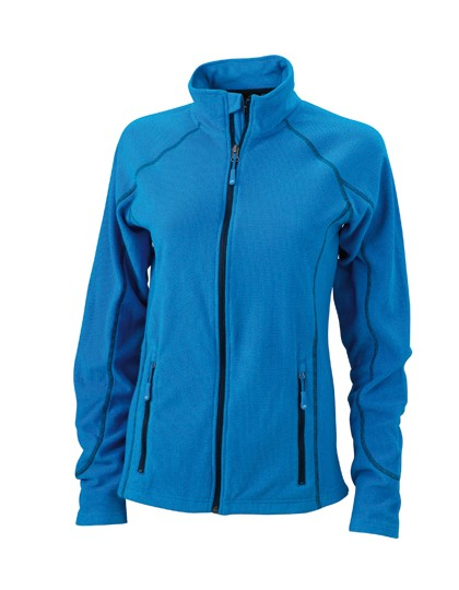 JN596 James+Nicholson Ladies´ Structure Fleece Jacket