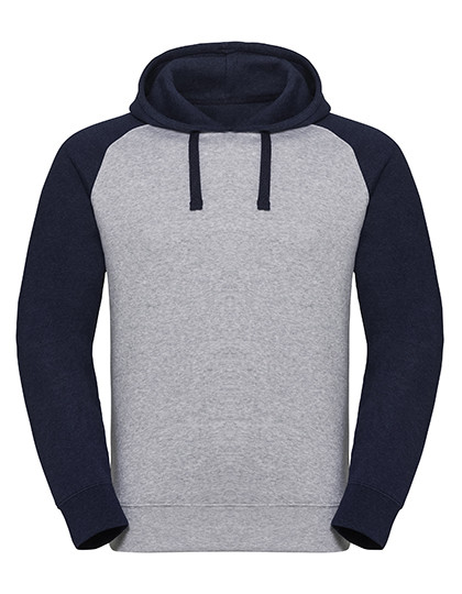 Z269 Russell Authentic Hooded Baseball Sweat