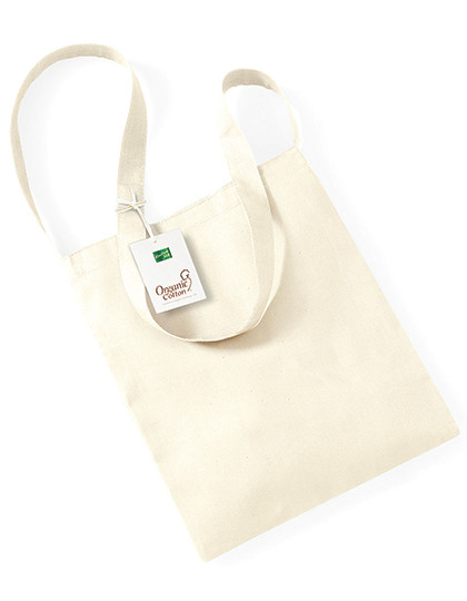 WM187 Westford Mill Organic Cotton Sling Bag
