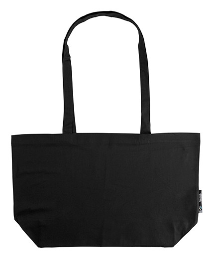 NE90015 Neutral Shopping Bag with Gusset