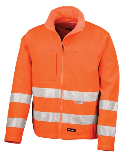 RT117 Result High-Vis Soft Shell Jacket
