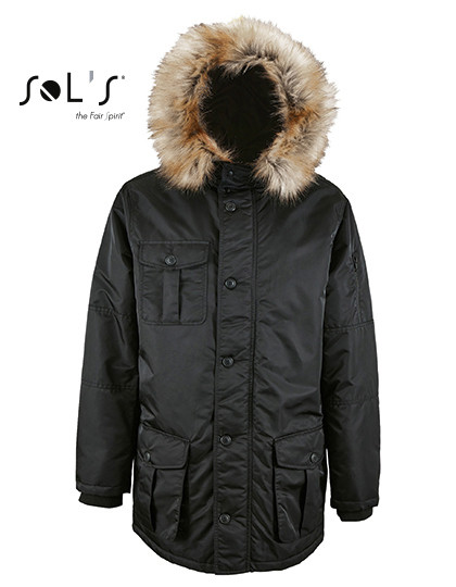 L02108 SOL´S Mens Warm and Waterproof Jacket Ryan