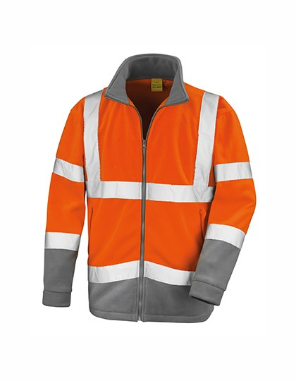 RT329 Result Safety Microfleece Jacket
