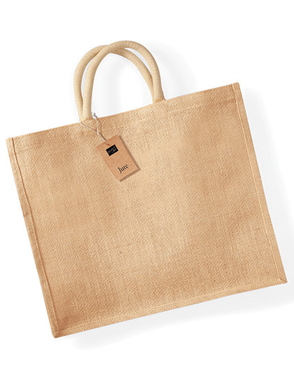 WM408 Westford Mill Jute Jumbo Shopper