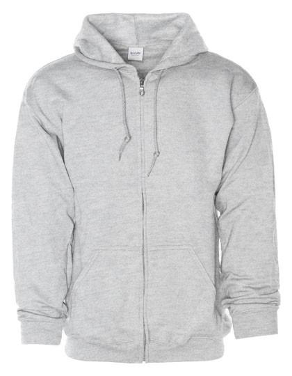G18600 Gildan Heavy Blend™ Full Zip Hooded Sweatshirt