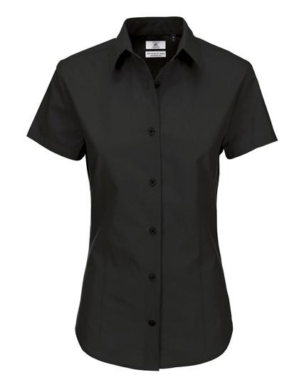 BCSWP44 B&C Poplin Shirt Heritage Short Sleeve / Women