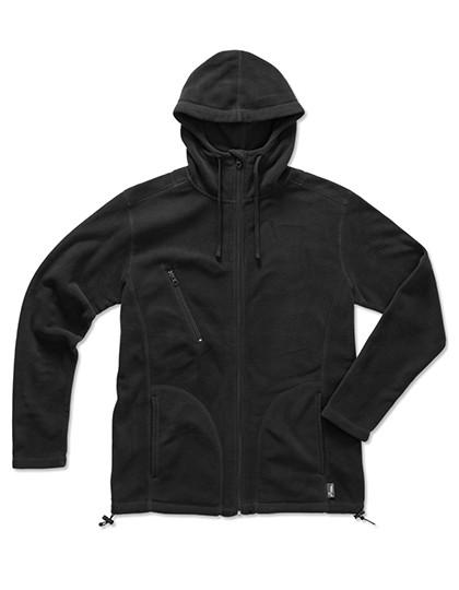 S5080 Stedman® Active Hooded Fleece Jacket
