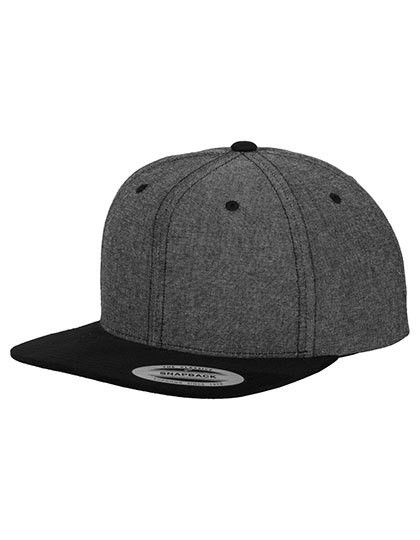 FX6089CH FLEXFIT Chambray-Suede Snapback