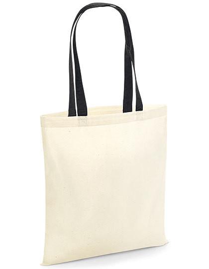 WM101C Westford Mill Bag for Life - Contrast Handles