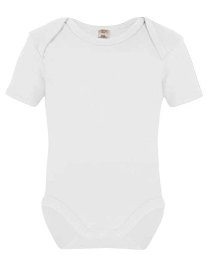 X801 Link Sublime Short Sleeve Baby Bodysuit Polyester