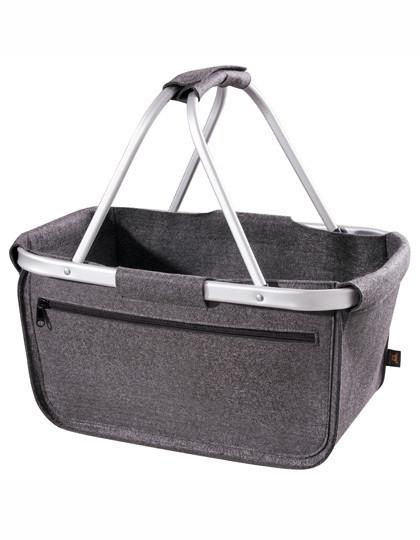 HF8800 Halfar Felt Shopper Basket