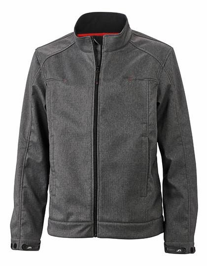 JN1088 James+Nicholson Men`s Softshell Jacket