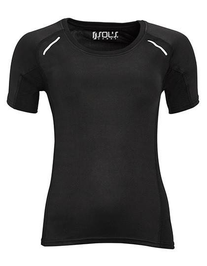 L01415 SOL´S Women`s Short Sleeve Running Shirt Sydney