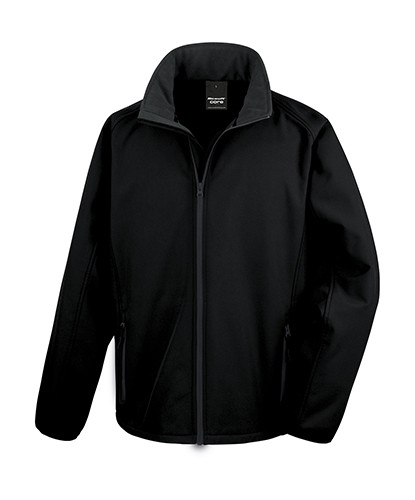 RT231 Result Core Printable Soft Shell Jacket