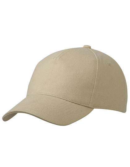 MB092 myrtle beach 5 Panel Cap Heavy Cotton