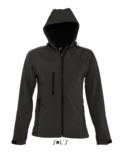 L849 SOL´S Womens Hooded Softshell Jacket Replay