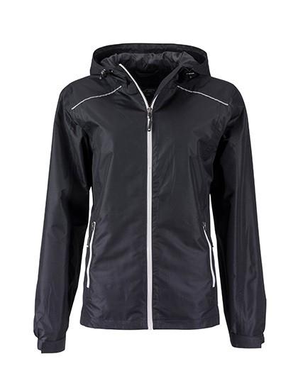 JN1117 James+Nicholson Ladies` Rain Jacket
