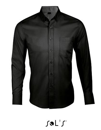 L602 SOL´S Long Sleeve Shirt Business Men