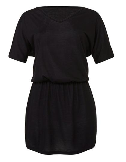BL8812 Bella Women´s Flowy V-Neck Dress