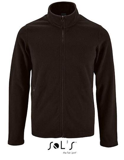 L02093 SOL´S Mens Plain Fleece Jacket Norman