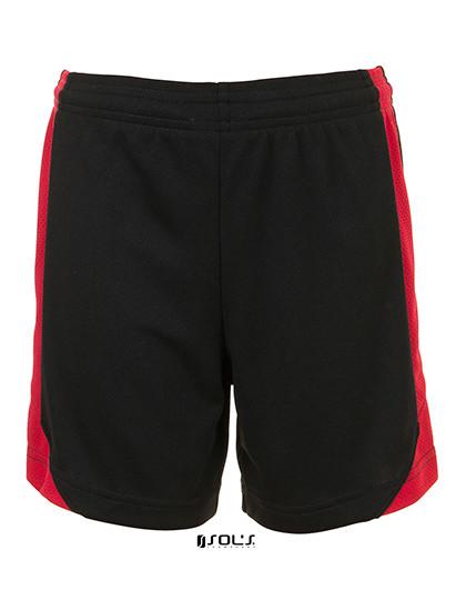 LT01720 SOL´S Teamsport Olimpico Contrast Kids Short