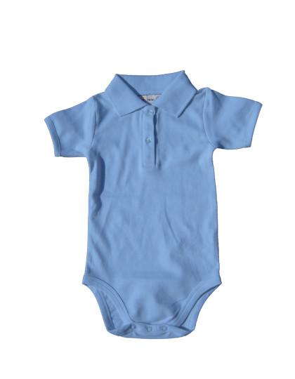X947 Link Kids Wear Bio Bodysuit mit Polokragen