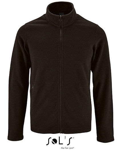 L02093 SOL´S Mens Plain Fleece Jacket Norman