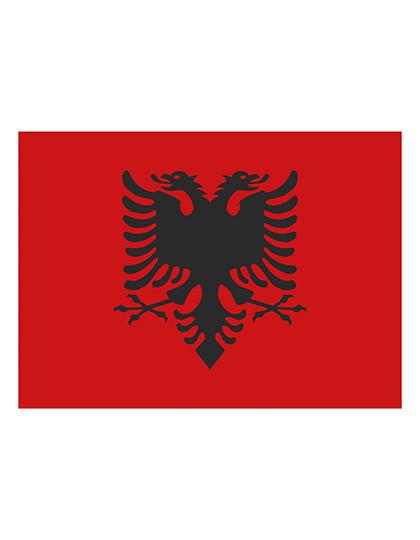 FLAGAL Fahne Albanien