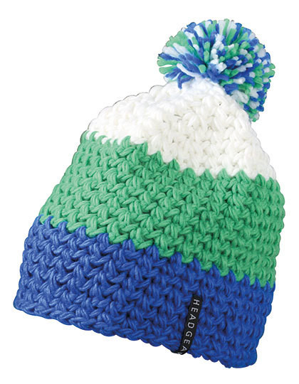 MB7940 myrtle beach Crocheted Cap with Pompon