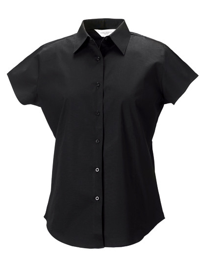 Z947F Russell Collection Stretchy Bluse Kurzarm