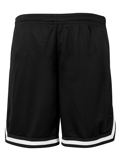 BY047 Build Your Brand Two-tone Mesh Shorts