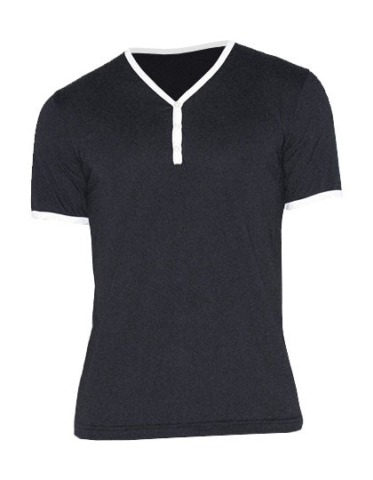 AM471 American Apparel Unisex Poly-Cotton Y-Neck Ringer Tee