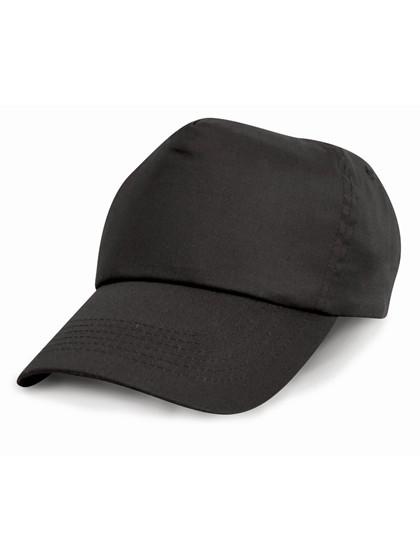 RH05J Result Headwear Junior Cotton Cap