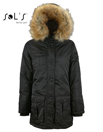 L02107 SOL´S Womens Warm And Waterproof Jacket Ryan