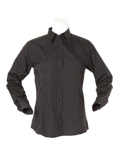 K729 Kustom Kit Women´s Workforce Poplin Shirt Long Sleeved