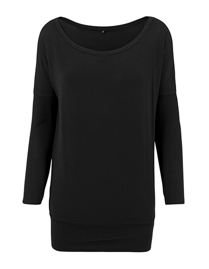 BY041 Build Your Brand Ladies Viscose Longsleeve