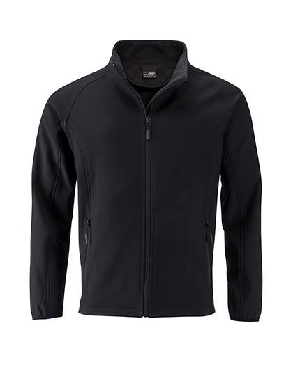 JN1130 James+Nicholson Men`s Promo Softshell Jacket